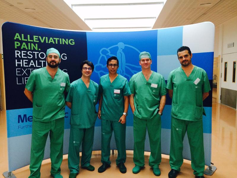 cirujanos torácicos